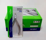 10 Pcs D04-14 Nghia Stainless Steel Cuticle Nipper, Single Spring,Grey-Plated.