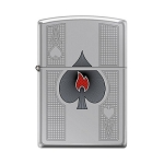 Zippo Ace of Spades-Flame