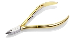 D555 Hard Steel Nghia Cuticle Nipper, Single Spring, Gold plated. Buy 100 Pcs get 5 Pcs Free, Call and MIX ( Free Shipping).