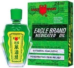 12 Pcs Eagle Brand Medicated Oil 24 ml ( BOX 0F 12)