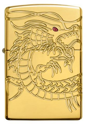 Asian Dragon Zippo Lighter