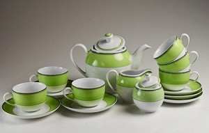 Spring Green Tea set by MINH LONG,