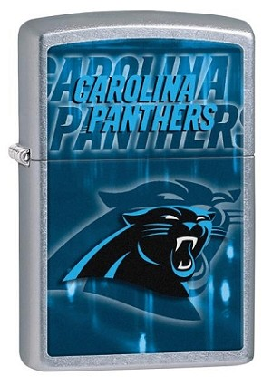 NFL Carolina Panthers Zippo Lighter