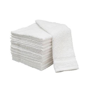 Salon Towels White 15x25--Economy 100% cotton